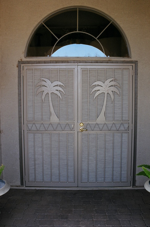 All custom iron security doors all custom iron for 60 x 80 exterior french doors