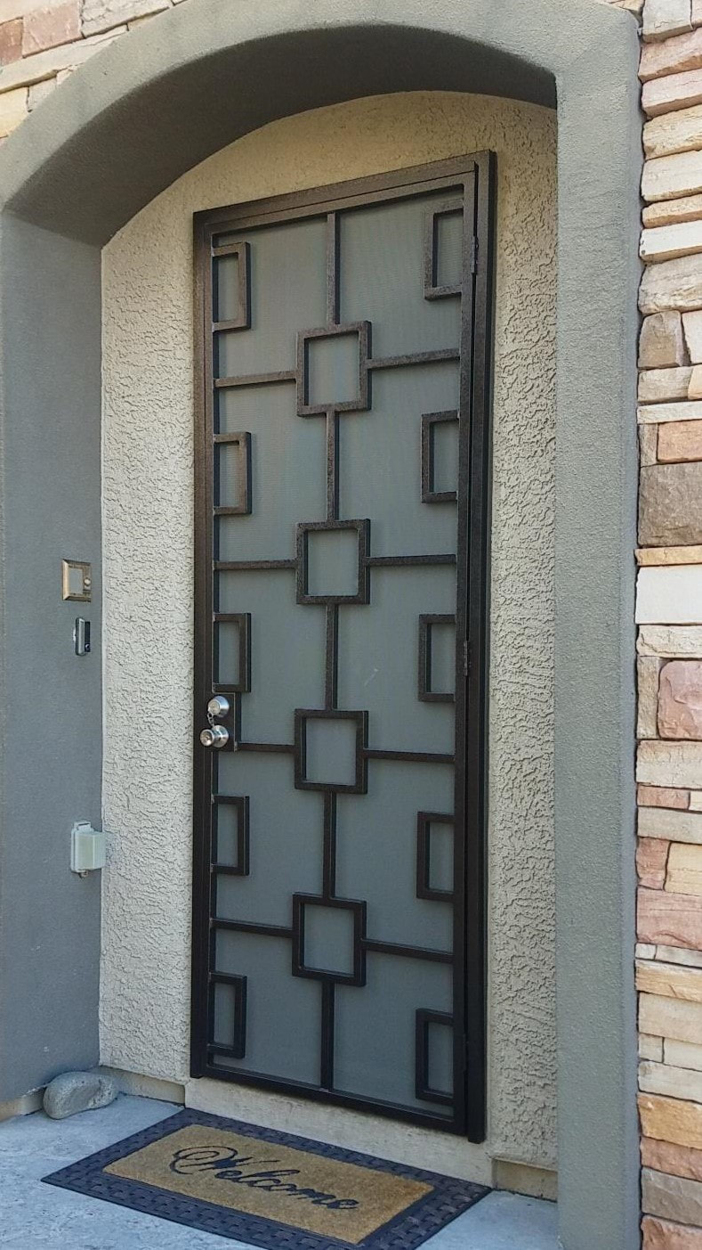 All Custom Iron Security Doors All Custom Iron